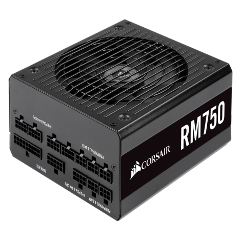 image else for Corsair RM Series Rm750 80 Plus Gold Fully Modular Atx Power Supply Cp-9020195-Au CP-9020195-AU