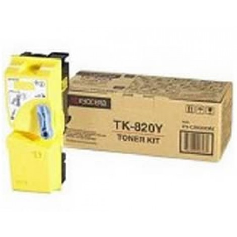 image else for Kyocera Fs-c8100dn Yellow Toner 1t02hpaeu0 1T02HPAEU0