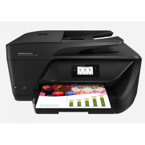 image else for Hp Officejet 6956 Aio Printer A4 16Ppm Blk 9Ppm Clr Wifi Fax 1Yr P4C82A