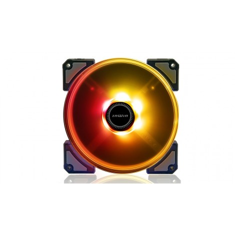image else for In Win Crown 140Mm Addressable Rgb Fan Twin Pac Crown-Ac140-2Pk CROWN-AC140-2PK