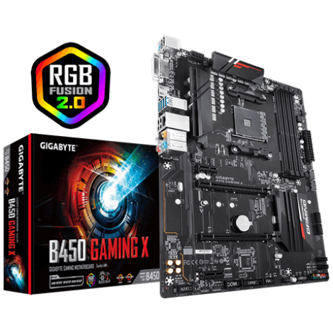 image else for Gigabyte B450 Gaming X Mb Am4 Atx 3Yr Ga-B450-Gaming-X GA-B450-GAMING-X
