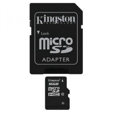 image else for Kingston 16gb Microsdhc Class 4 Flash Card Sdc4/16gb