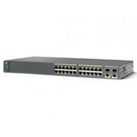 Cisco Catalyst 2960 Plus 24 10/ 100 Poe + 2 T/ Sfp Lan Base Ws-c2960+24pc-l