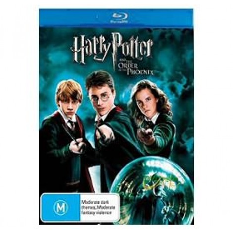 image else for Harry Potter And The Order Of The Phoenix Blu-ray