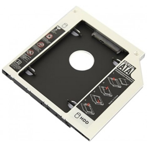 image else for I-tech Sata 2nd Hdd Caddy Case For 9.5mm Universal Laptop Cd / Dvd-rom Optical Bay