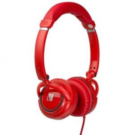VERBATIM OVER-EAR CALSSIC AUDIO HEADPHONES - RED