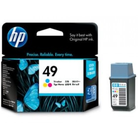image else for Hp 49a Ink Cartridge Tri-color 51649aa 51649AA