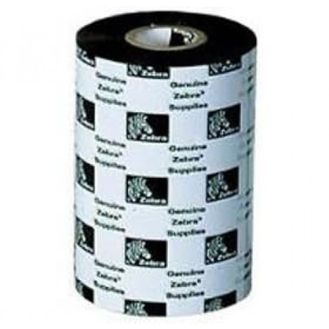 image else for Zebra Wax Ribbon 110mm X 74m Core Size 0.5 Inches J2300bk11007 J2300BK11007