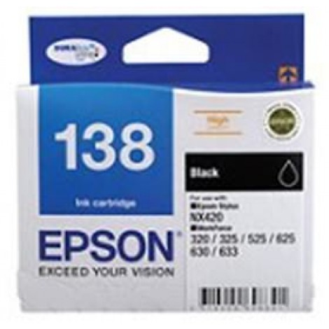 image else for Epson T138695 Epson T138 High Capacity Bundle Pack, 4 Inks+ 4x6 Photo Paper C13T138695