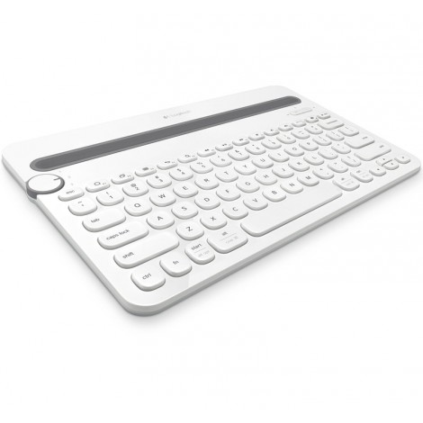 image else for Logitech K480 Bluetooth Multi-device Keyboard White 920-006381 A Wireless Desk Keyboard For Your Computer 920-006381