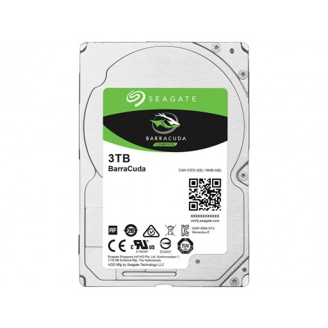 """image else for Seagate Barracuda Internal 2.5"""" Sata Drive 3Tb 6Gb/S 5400Rpm 2Yr Wty ST3000LM024 ST3000LM024"""