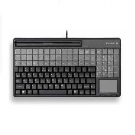 image else for Cherry Spos Qwerty Keyboard With Touchpad And 3 Track Magnetic Strip Reader. Ip 54 Spill Resistant G86-61411EUADAA