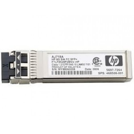image else for Hp 8gb Short Wave Fc Sfp+ 1 Pack Aj718a 86198 AJ718A