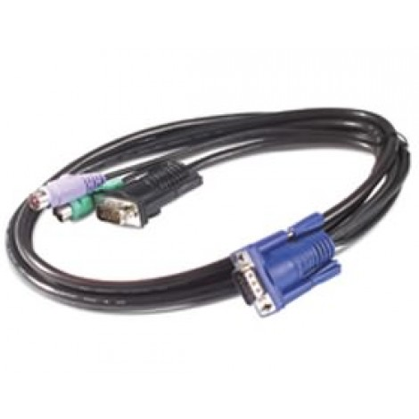 image else for Apc Kvm Ps/ 2 Cable - 6ft (1.8m) Apc Kvm Ps/ 2 Cable - 6ft (1.8m) Ap5250 AP5250