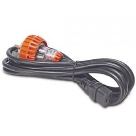 image else for Apc Power Cord, 15a, C19 To Aust Plug Power Cord, 15a, 230v, C19 To Australian Plug Ap9897 AP9897