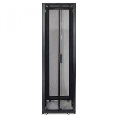 image else for Apc Netshelter Sx 42u Rack, 42u 600mm W X 1200m D, Black, Includes Front AR3300