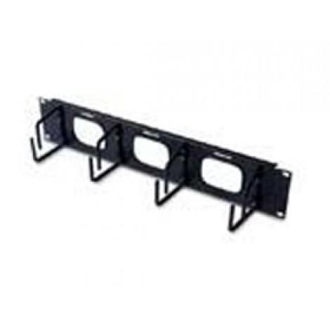 image else for Apc 2u Horizontal Cable Organizer W/ Pass Through Black Ar8428 AR8428