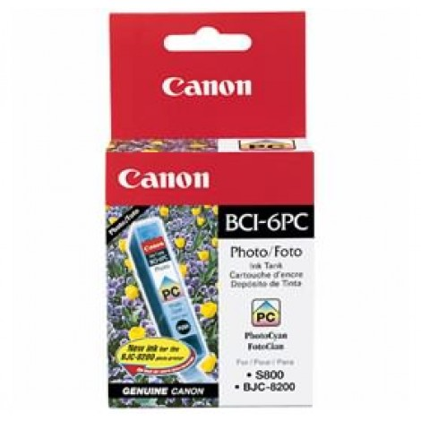 image else for Canon Bci6pc Photo Cyan Ink Tank Suitable For I905d I950 I965 I9100 S800 S820 S820d S830d S900 BCI6PC