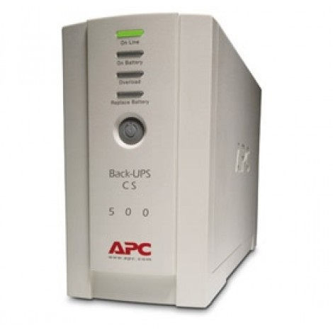 image else for Apc Back-ups Cs 500va Usb Support 500va/ 300 Watts Capacity, Usb Compatible, BK500EI