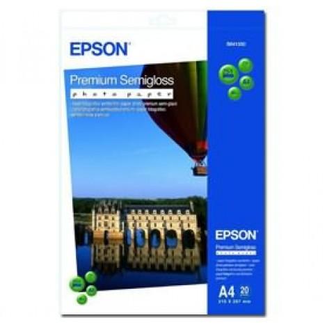 image else for Epson S041332 A4 Premium Semigloss Photo Paper 20 Sheets C13s041332 C13S041332