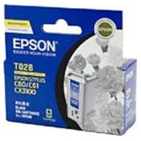 image else for Epson T028 Black Ink Cartridge - C60 C61 Cx3100 420 Pages C13t028091 C13T028091