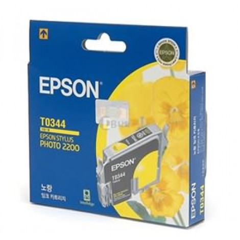 image else for Epson T0344 Yellow Ink Cartridge - Stylus Photo 2100 C13t034490 C13T034490
