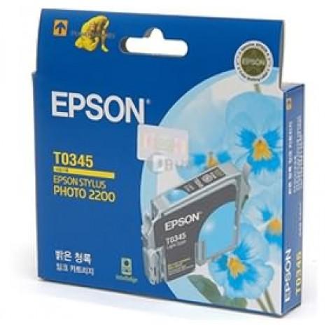 image else for Epson T0345 Light Cyan Ink Cartridge - Sp2100 C13t034590 C13T034590