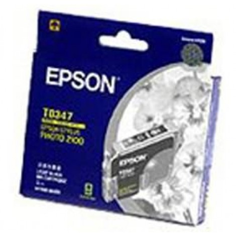 image else for Epson T0347 Light Black Ink Cartridge - Stylus Photo 2100 C13t034790 C13T034790