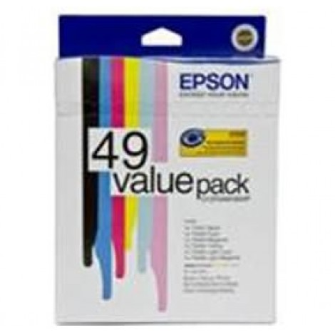 image else for Epson 6 Pack Claria Ink C13t049190vp C13T049190VP