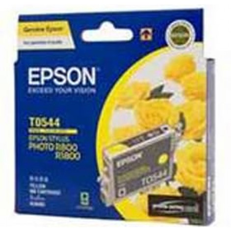 image else for Epson T0544 Ink Cartridge Yellow 440 Pages C13t054490 C13T054490