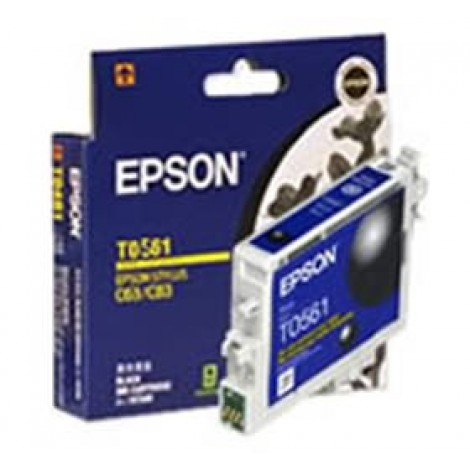 image else for Epson T0561 Ink Cartridge Black 290/ 420 Pages C13T056190 C13T056190