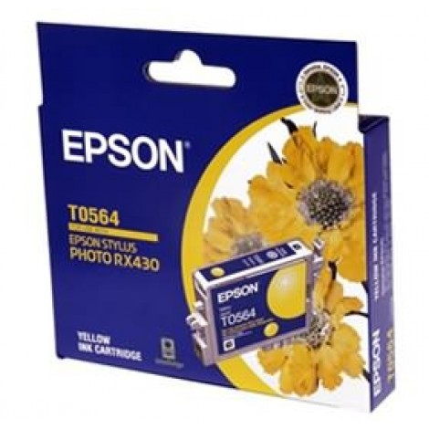 image else for EPSON T0564 Ink Cartridge Yellow 290 Pages C13T056490 C13T056490