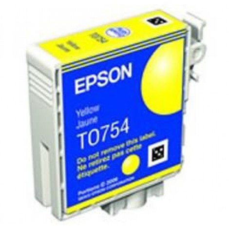 image else for Epson T0754 C59 Ink Cartridge Yellow C13t075490 C13T075490