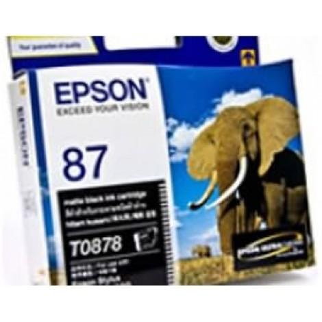 image else for Epson T0878 Matte Black Ink Cartridge R1900 C13t087890 C13T087890
