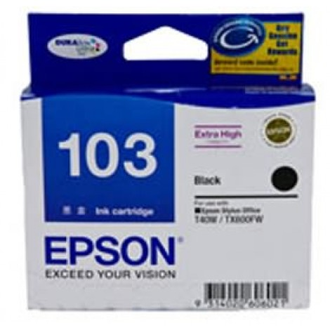 image else for Epson T103192 Extra High Capacity Black Ink For T40w, Tx600fw C13T103192