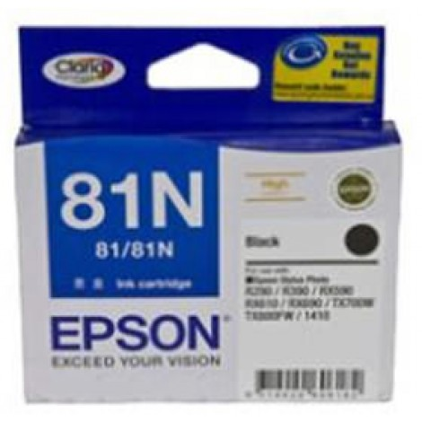image else for Epson 81n High Capacity Claria Ink Cart Black C13t111192 C13T111192
