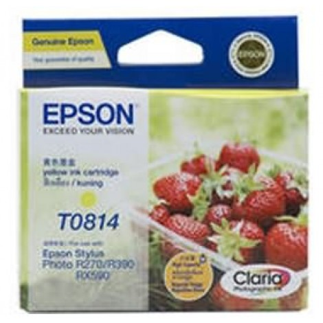 image else for Epson 81n Yellow Ink Cartridgetx700w 800fw Rx610 R290 Photo 1410 C13t111492 C13T111492