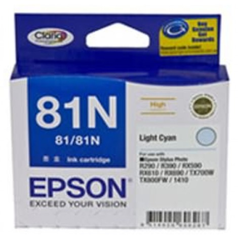 image else for Epson 81n High Cap Claria Ink Cart Light Cyan C13t111592 C13T111592