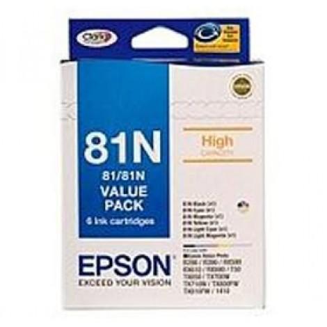 image else for Epson T81n Bundle Pack Ink Set C13t111792 C13T111792
