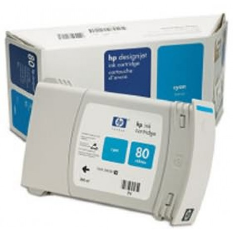 image else for Hp No 80 Cyan Ink Cartridge 350ml C4846a C4846A
