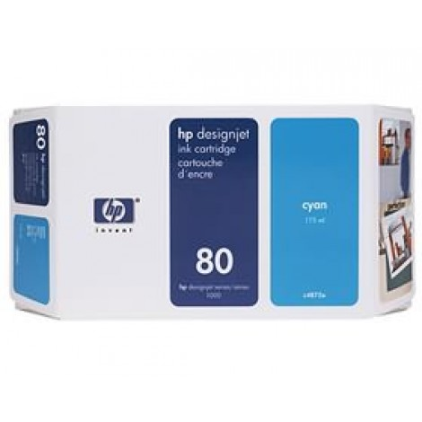 image else for Hp 80 Ink Cartridge 175ml Cyan C4872a C4872A