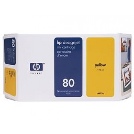 image else for Hp 80 Ink Cartridge 175ml Yellow C4873a C4873A