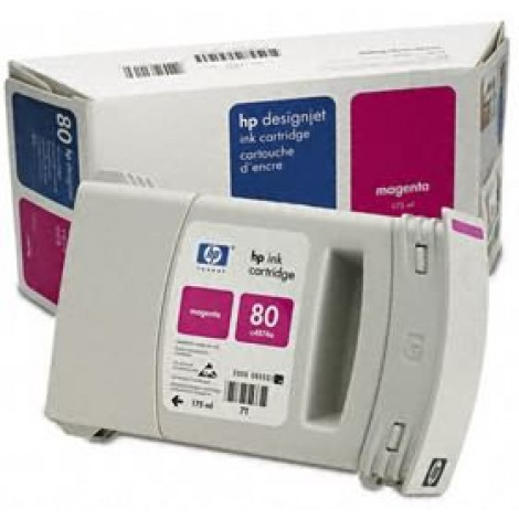 image else for Hp No 80 Ink Cartridge 175ml Magenta C4874a C4874A