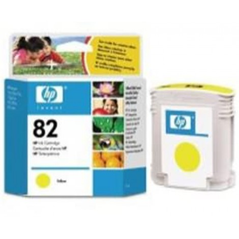 image else for Hp No 82 Ink Cartridge Yellow C4913a C4913A
