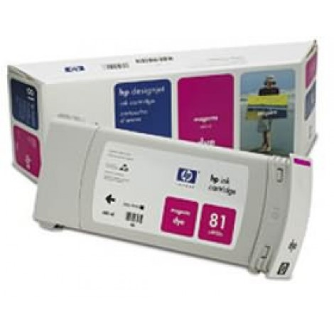 image else for Hp No 81 Dye Ink Cartridge Magenta C4932a C4932A