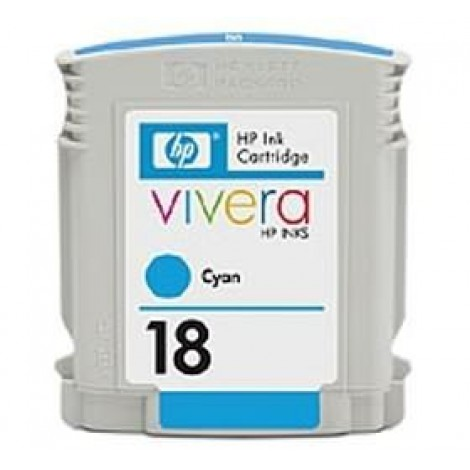 image else for Hp C4937a Hp No 18 Cyan Ink Cartridge C4937A