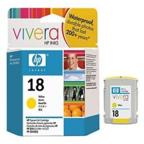 image else for Hp C4939a Hp No 18 Yellow Ink Cartridge C4939A
