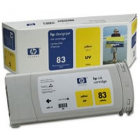 image else for Hp No 83 Uv Ink Cartridge Yellow C4943a C4943A