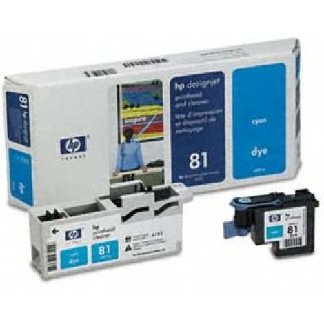 image else for Hp 81 Cyan Dye Printhead And Cleaner C4951a C4951A
