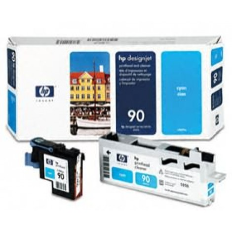 image else for Hp 90 Printhead And Cleaner Cyan C5055a C5055A